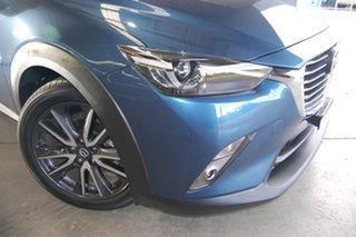 2018 Mazda CX-3 DK2W7A sTouring SKYACTIV-Drive Blue 6 Speed Sports Automatic Wagon.