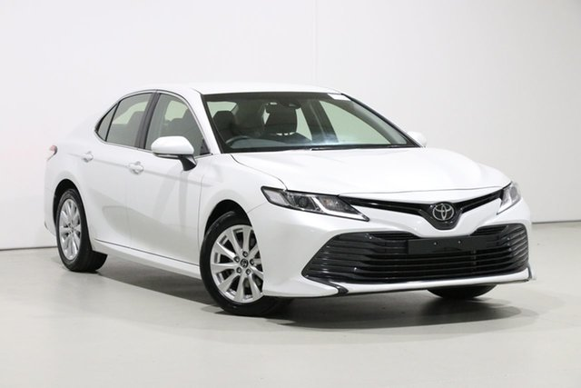 Used Toyota Camry ASV70R MY19 Ascent, 2019 Toyota Camry ASV70R MY19 Ascent Crystal Pearl 6 Speed Automatic Sedan