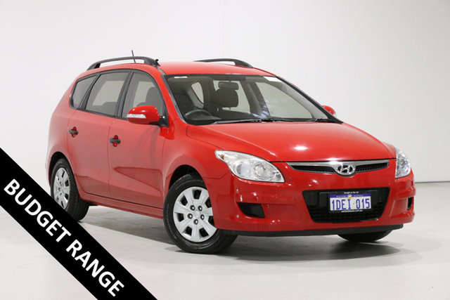 Used Hyundai i30 FD MY09 CW SX 2.0, 2009 Hyundai i30 FD MY09 CW SX 2.0 Red 4 Speed Automatic Wagon