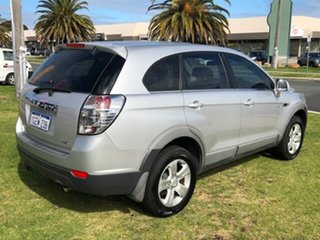 2012 Holden Captiva CG Series II 7 SX Silver 6 Speed Sports Automatic Wagon.