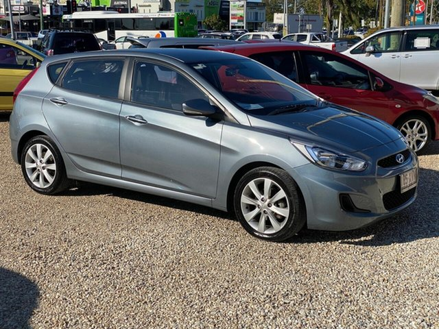 Used Hyundai Accent RB6 MY18 Sport, 2017 Hyundai Accent RB6 MY18 Sport Grey 6 Speed Automatic Sedan
