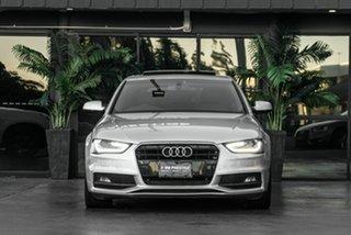 2012 Audi A4 B8 8K MY13 Multitronic Silver 8 Speed Constant Variable Sedan.