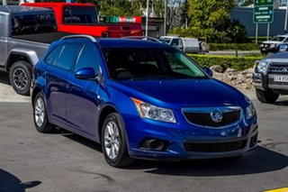 2013 Holden Cruze JH Series II MY14 CD Sportwagon Blue 6 Speed Sports Automatic Wagon.