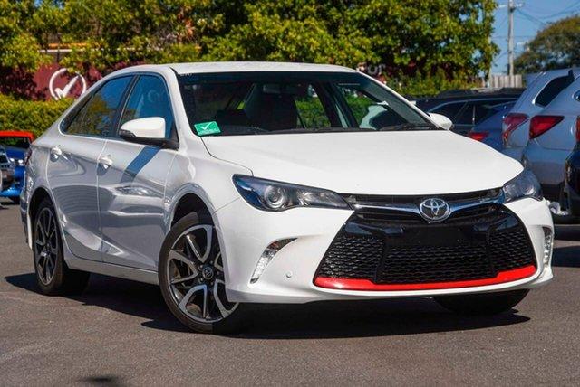 Used Toyota Camry ASV50R Atara SX, 2017 Toyota Camry ASV50R Atara SX White 6 Speed Sports Automatic Sedan