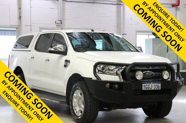 Used Ford Ranger PX MkII MY17 XLT 3.2 (4x4), 2017 Ford Ranger PX MkII MY17 XLT 3.2 (4x4) White 6 Speed Automatic Dual Cab Utility