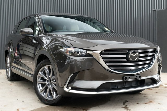 Demo Mazda CX-9 TC GT SKYACTIV-Drive i-ACTIV AWD, 2019 Mazda CX-9 TC GT SKYACTIV-Drive i-ACTIV AWD Titanium Flash 6 Speed Sports Automatic Wagon
