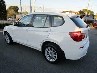 2012 BMW X3 F25 MY0412 xDrive20d Steptronic White 8 Speed Automatic Wagon.