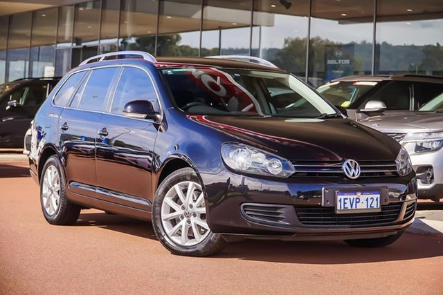 Used Volkswagen Golf VI MY13.5 103TDI DSG Comfortline, 2013 Volkswagen Golf VI MY13.5 103TDI DSG Comfortline Black 6 Speed Sports Automatic Dual Clutch