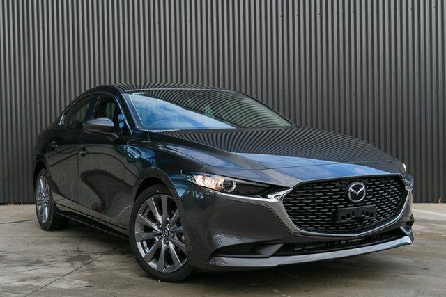 New Mazda 3 BP2S7A G20 SKYACTIV-Drive Pure, 2020 Mazda 3 BP2S7A G20 SKYACTIV-Drive Pure Machine Grey 6 Speed Sports Automatic Sedan