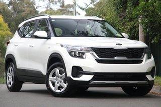 2020 Kia Seltos SP2 MY20 Sport 2WD Snow White Pearl 1 Speed Constant Variable Wagon.