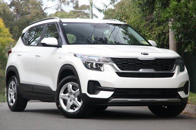 New Kia Seltos SP2 MY20 Sport 2WD, 2020 Kia Seltos SP2 MY20 Sport 2WD Snow White Pearl 1 Speed Constant Variable Wagon