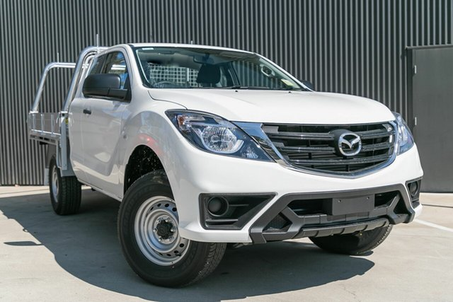 New Mazda BT-50 UR0YG1 XT Freestyle 4x2 Hi-Rider, 2020 Mazda BT-50 UR0YG1 XT Freestyle 4x2 Hi-Rider Cool White 6 Speed Sports Automatic Cab Chassis