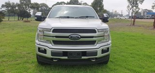 2019 Ford F150 (No Series) Platinum Silver Automatic Utility.