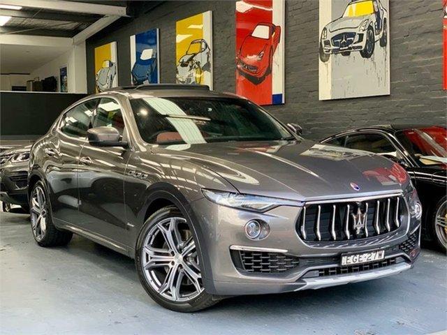 Used Maserati Levante  S Granlusso, 2020 Maserati Levante M161 S Granlusso Grey Sports Automatic Wagon