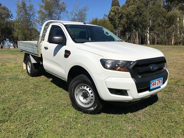 Used Ford Ranger PX MkII MY17 XL 2.2 Hi-Rider (4x2), 2016 Ford Ranger PX MkII MY17 XL 2.2 Hi-Rider (4x2) White 6 Speed Automatic Cab Chassis