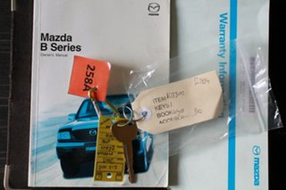 2003 Mazda Bravo B2600 DX 4x2 Burgundy 5 Speed Manual Utility
