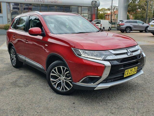 Used Mitsubishi Outlander ZL MY18.5 ES AWD, 2018 Mitsubishi Outlander ZL MY18.5 ES AWD Red 6 Speed Constant Variable Wagon