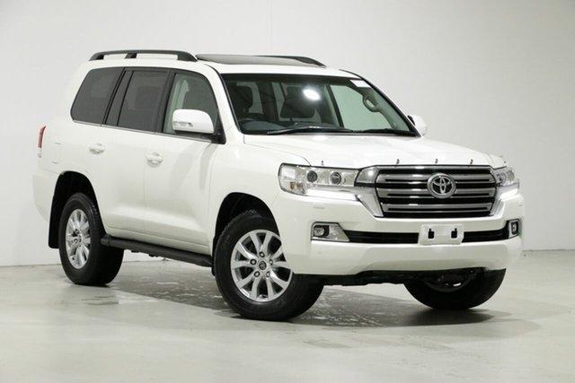 Used Toyota Landcruiser VDJ200R MY16 VX (4x4), 2017 Toyota Landcruiser VDJ200R MY16 VX (4x4) White 6 Speed Automatic Wagon