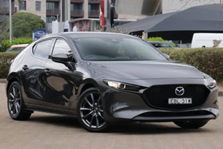 2019 Mazda 3 BP G25 GT Grey 6 Speed Automatic Hatchback.