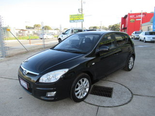 2010 Hyundai i30 FD SLX Black 4 Speed Automatic Hatchback.
