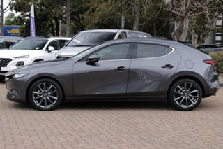 2019 Mazda 3 BP G25 GT Grey 6 Speed Automatic Hatchback