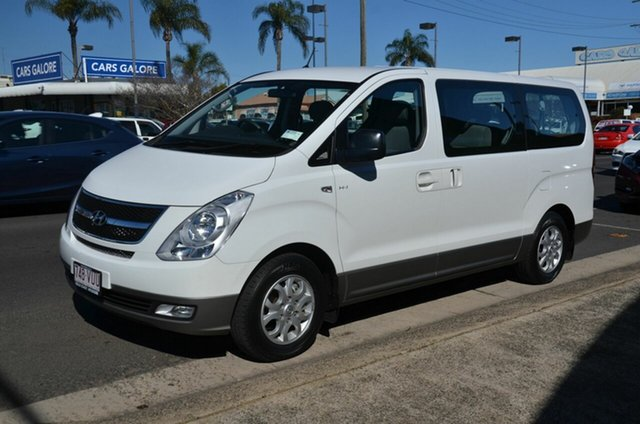 Used Hyundai iMAX TQ MY13 Toowoomba, 2015 Hyundai iMAX TQ MY13 White 4 Speed Automatic Wagon