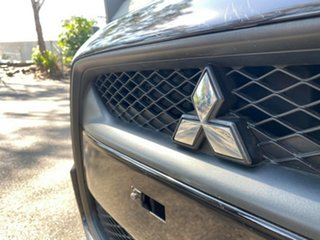 2010 Mitsubishi ASX XA MY11 2WD Black 6 Speed Constant Variable Wagon