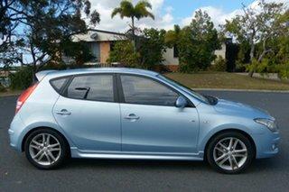 2010 Hyundai i30 FD MY11 SR Blue 5 Speed Manual Hatchback.