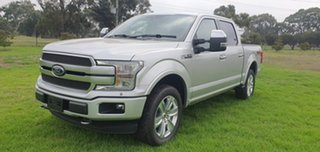 2019 Ford F150 (No Series) Platinum Silver Automatic Utility