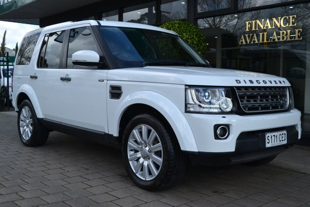 Used Land Rover Discovery Series 4 L319 MY16.5 TDV6, 2016 Land Rover Discovery Series 4 L319 MY16.5 TDV6 White 8 Speed Sports Automatic Wagon