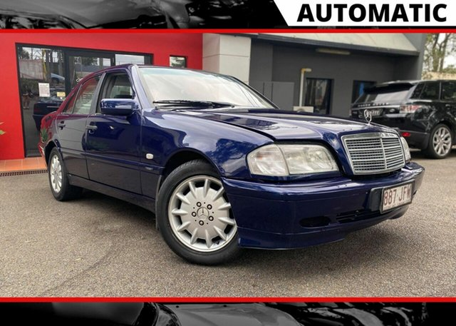Used Mercedes-Benz C-Class W202 C180 Classic, 1999 Mercedes-Benz C-Class W202 C180 Classic Blue 5 Speed Automatic Sedan
