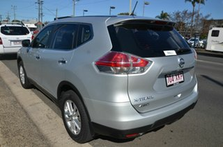 2016 Nissan X-Trail T32 ST (4x4) Silver Continuous Variable Wagon
