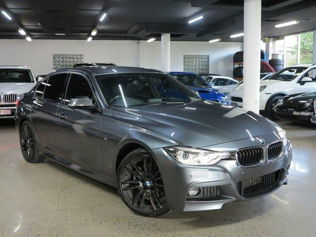 Used BMW 3 Series F30 LCI 330i M Sport, 2018 BMW 3 Series F30 LCI 330i M Sport Grey 8 Speed Sports Automatic Sedan