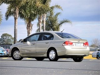 2007 Honda Civic 8th Gen MY07 Hybrid Gold 1 Speed Constant Variable Sedan Hybrid