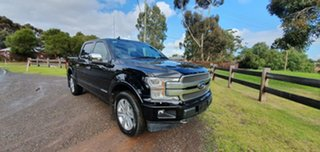 2019 Ford F150 (No Series) Platinum Black Automatic Utility.