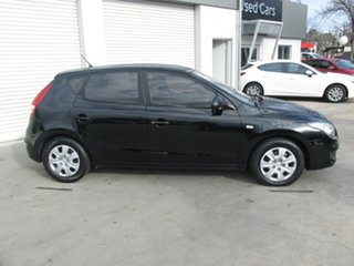 2010 Hyundai i30 FD MY10 SX Black 4 Speed Automatic Hatchback.