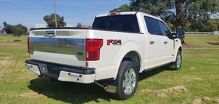 2019 Ford F150 (No Series) Platinum White Automatic Utility