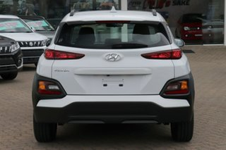 2019 Hyundai Kona OS.2 MY19 Active (FWD) Chalk White 6 Speed Automatic Wagon