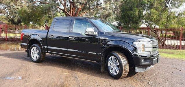 Used Ford F150  Platinum, 2019 Ford F150 (No Series) Platinum Black Automatic