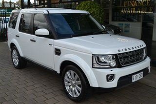 2016 Land Rover Discovery Series 4 L319 MY16.5 TDV6 White 8 Speed Sports Automatic Wagon.
