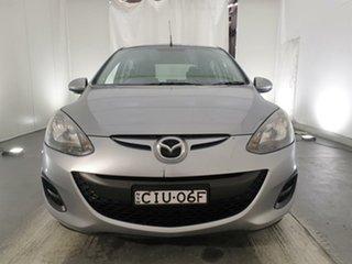 2012 Mazda 2 DE10Y2 MY12 Neo Silver 5 Speed Manual Hatchback.