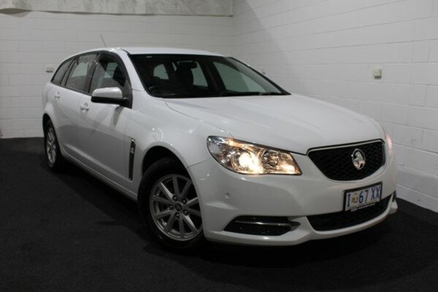 Used Holden Commodore VF MY14 Evoke Sportwagon, 2013 Holden Commodore VF MY14 Evoke Sportwagon Heron White 6 Speed Sports Automatic Wagon