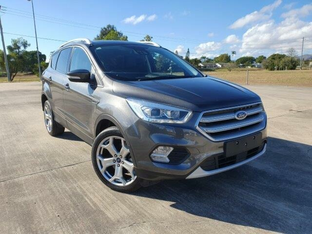 Used Ford Escape ZG 2018.00MY Titanium Townsville, 2018 Ford Escape ZG 2018.00MY Titanium Magnetic 6 Speed Automatic SUV