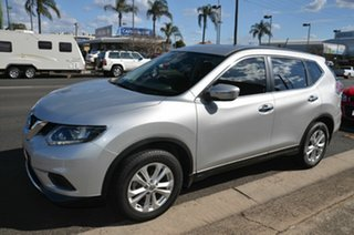 2016 Nissan X-Trail T32 ST (4x4) Silver Continuous Variable Wagon.