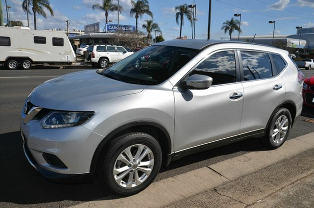 Used Nissan X-Trail T32 ST (4x4) Toowoomba, 2016 Nissan X-Trail T32 ST (4x4) Silver Continuous Variable Wagon