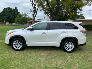 2016 Toyota Kluger GSU50R GX 2WD Crystal Pearl 6 Speed Sports Automatic Wagon