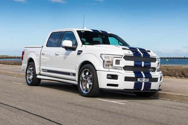 Used Ford F150  , 2018 Ford F150 (No Series) Shelby White Automatic