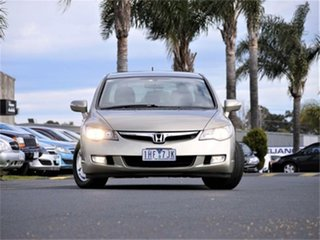 2007 Honda Civic 8th Gen MY07 Hybrid Gold 1 Speed Constant Variable Sedan Hybrid.
