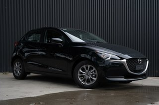 2020 Mazda 2 DJ2HAA G15 SKYACTIV-Drive Pure Jet Black 6 Speed Sports Automatic Hatchback.