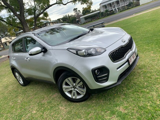 Used Kia Sportage QL MY17 Si 2WD Moree, 2016 Kia Sportage QL MY17 Si 2WD Sparkling Silver 6 Speed Sports Automatic Wagon
